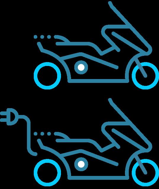 Motorscooter